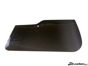 Carbon door cards front Abarth 500 Biposto