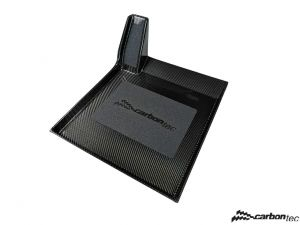 Carbon foot rest for driver V3