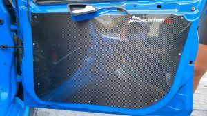 Carbon door cards Ford Focus MK3